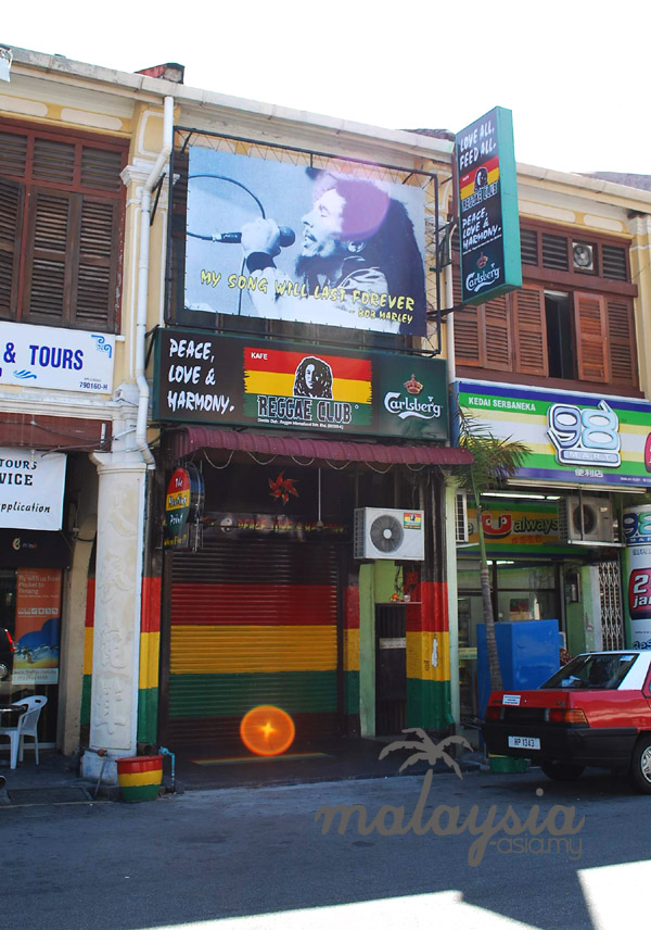 Chulia Street Reggae Cafe Bar