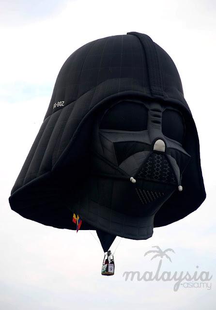Vader Hot Air Balloon Malaysia