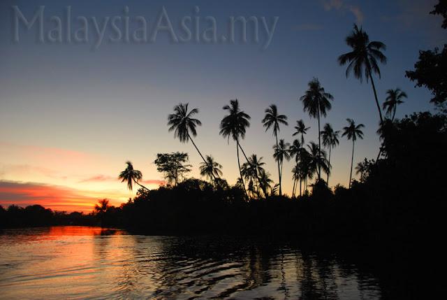 Sunset Klias River