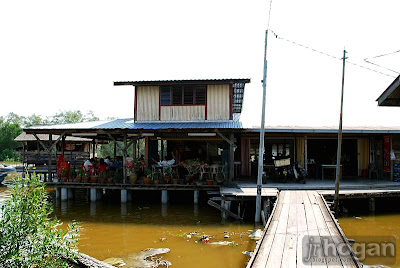 Seafood Restaurant at Bagan Tengkorak