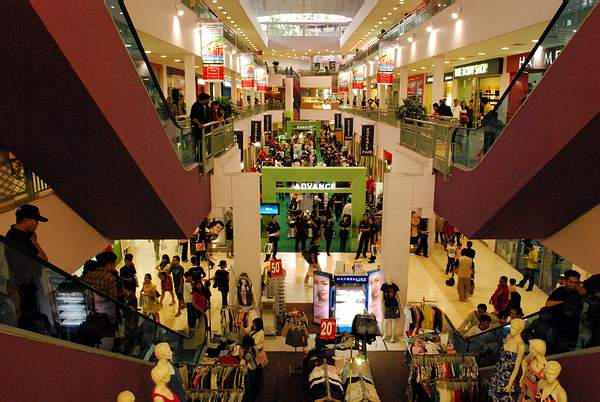 Shopping Mall in Bandung