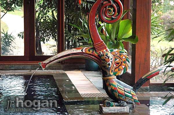 Burung Kenyalang Decoration Photo