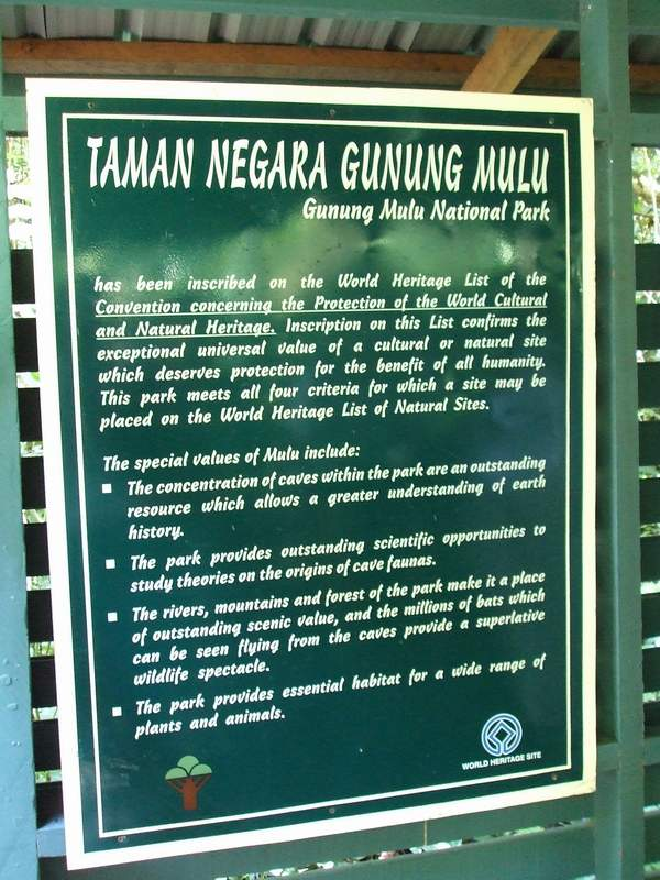 Info on Mulu National Park
