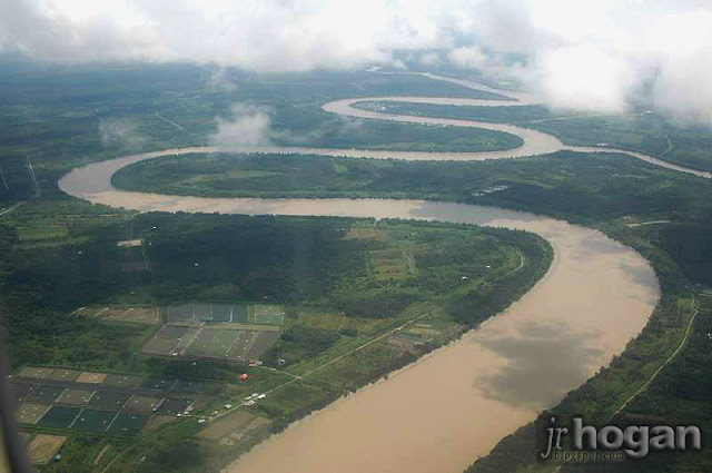 Aerial view of Interior Sarawak