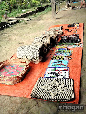 Bags made by Penan People