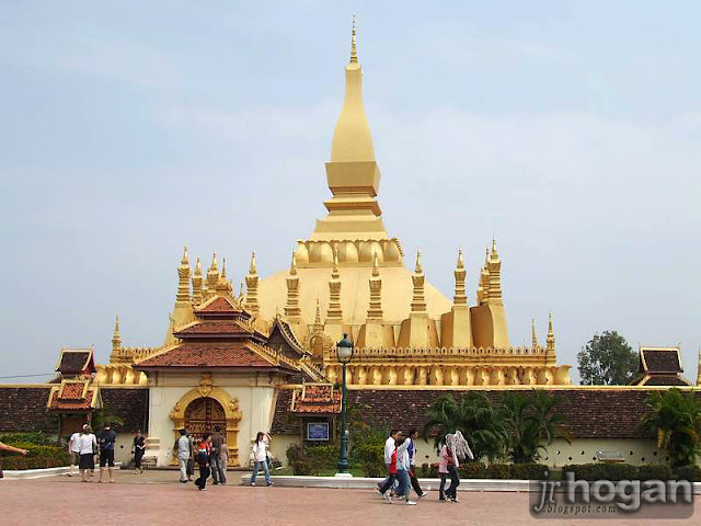 Photo of the Golden Stupa in Laos