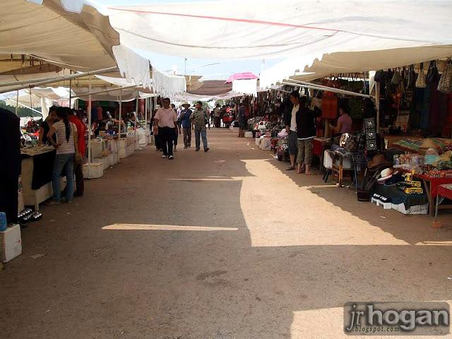 Street Market Vientiane