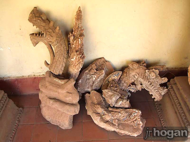 Artifacts at That Luang Temple Vientiane