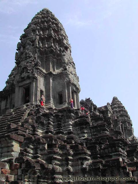 Pagoda at Angkor Wat Temple
