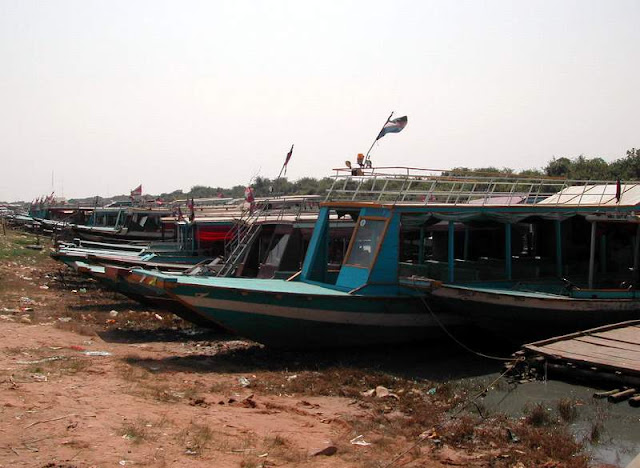Boat Jetty at Tonle Sap Lake