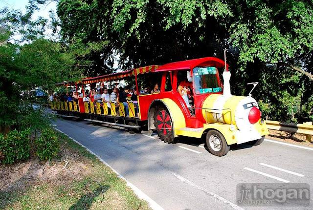 Tram at Malawati Hill