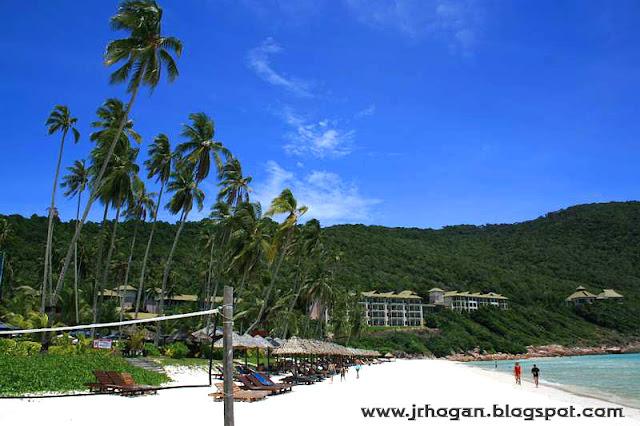 Beach at Berjaya Redang