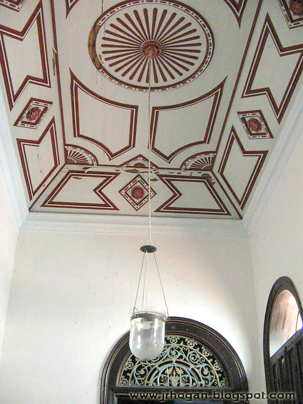 Cheong Fatt Tze Mansion Ceiling Design