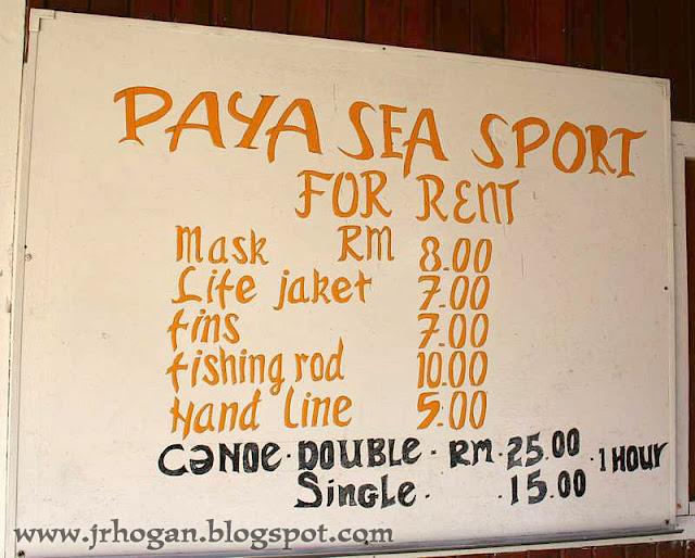 Paya Resort Activities