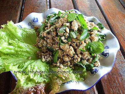Lao Food in Vientiane