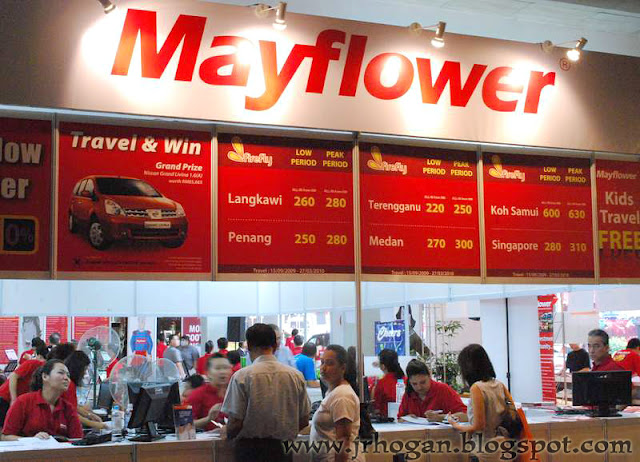 Travel Booth Mayflower Tours Malaysia