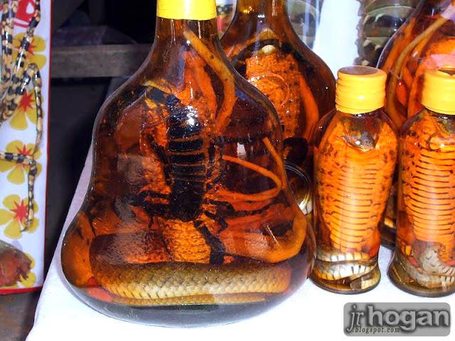 Snake Whisky Laos