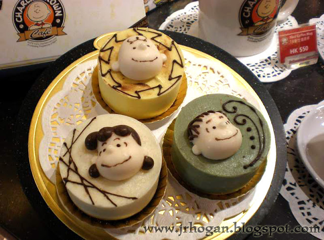 Hong Kong Charlie Brown Cafe Cakes