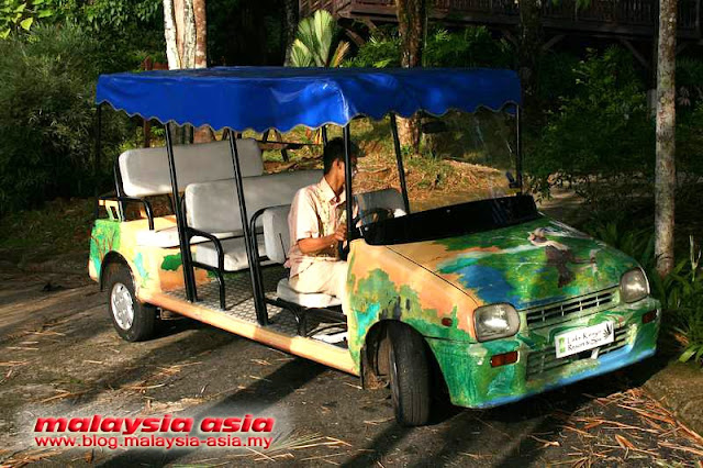 Buggy Service Kenyir Lake Resort