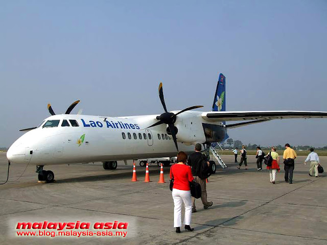 Xian MA60 Aircraft Lao Airlines