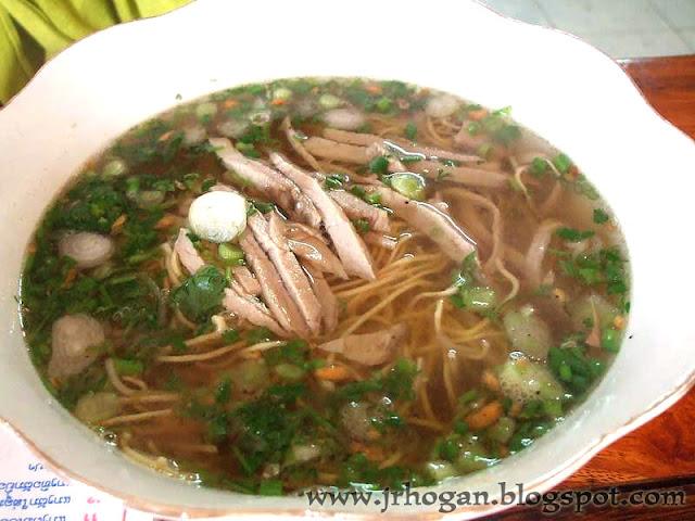 Soup Noodles in Laos