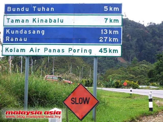 Road to Kinabalu