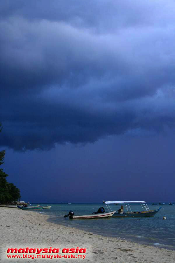 Storm at Perhentian Island