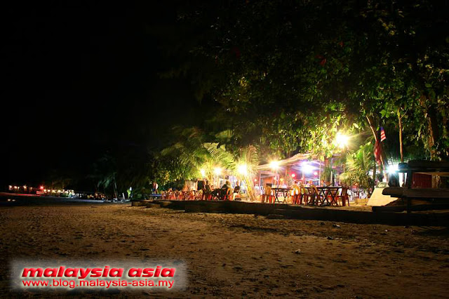 Night Photo of Coral View Perhentian