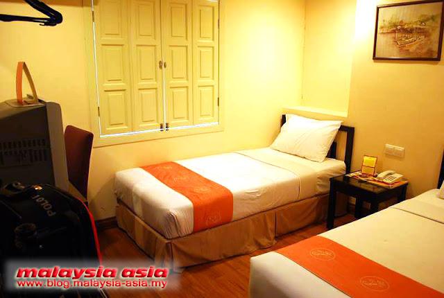 Standard Room Hotel Puri Melaka