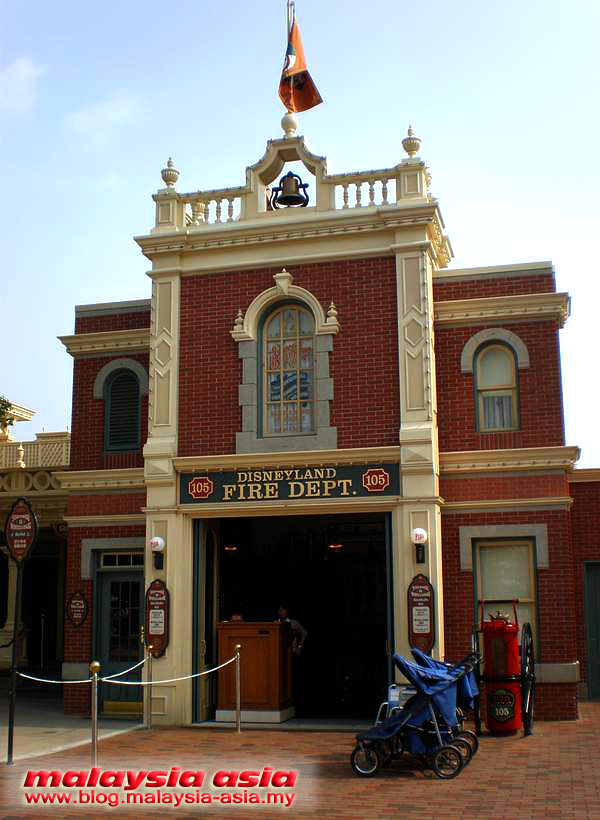 Fire Department Disneyland