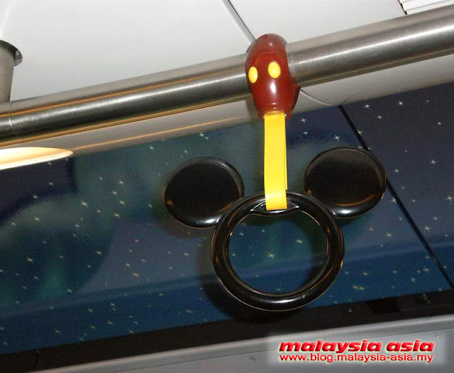 Mickey Mouse Train Handrail