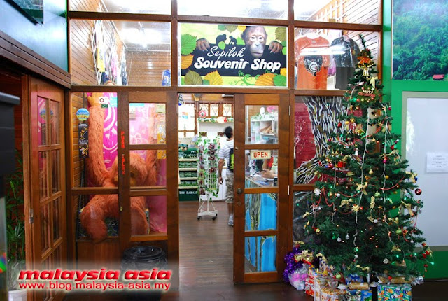 Souvenir Shop Sepilok Orang Utan Sanctuary