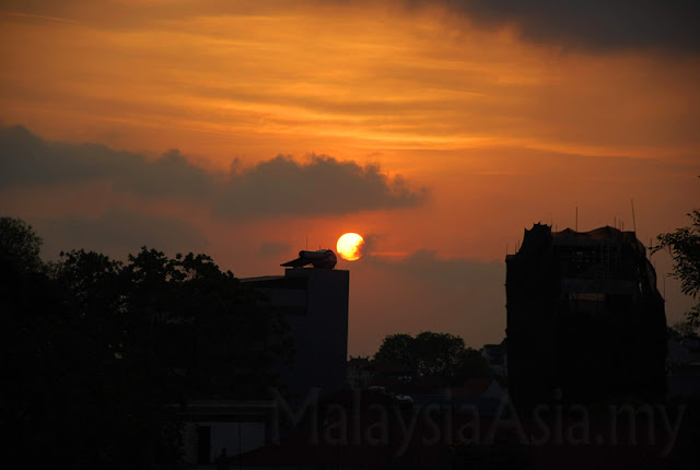 Sunset Photo in Hanoi