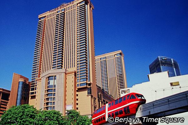 Berjaya Times Square Shopping Mall