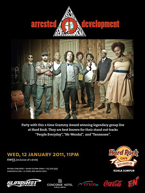 Poster of Arrested Development Live in Malaysia