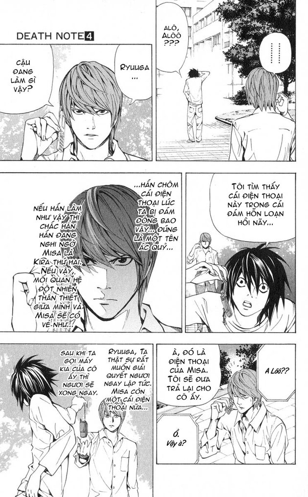 Death Note chapter 033 trang 4