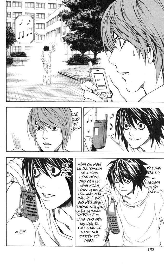 Death Note chapter 033 trang 3