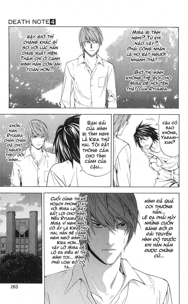 Death Note chapter 033 trang 6