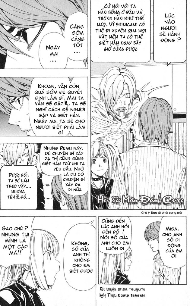 Death Note chapter 032 trang 2