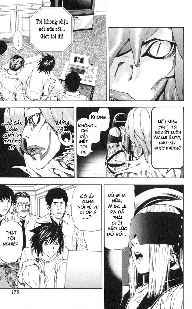 Death Note chapter 033 trang 16