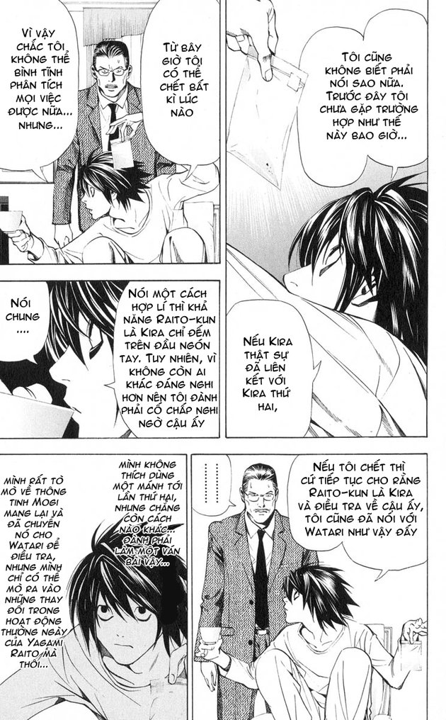 Death Note chapter 032 trang 10