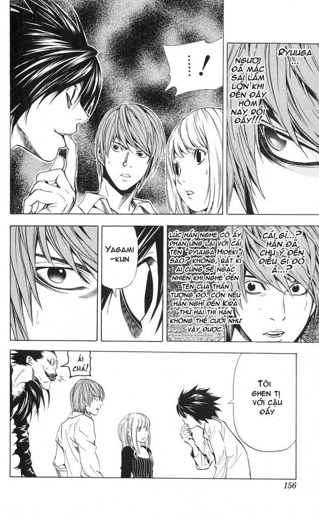 Death Note chapter 032 trang 17