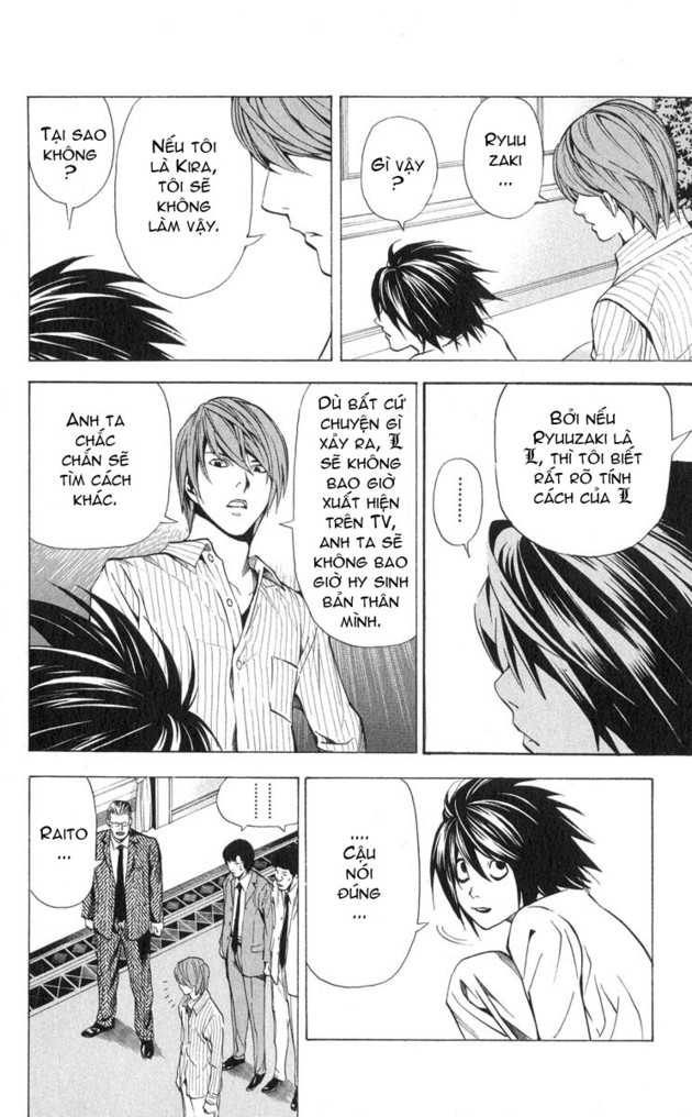 Death Note chapter 031 trang 13