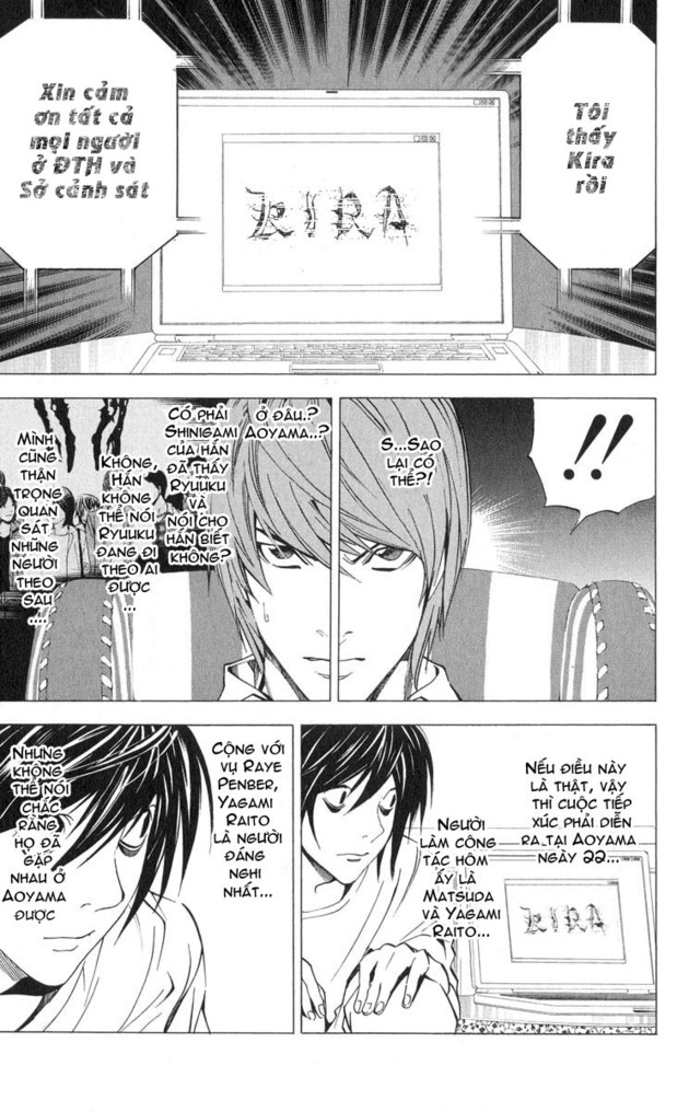 Death Note chapter 029 trang 4