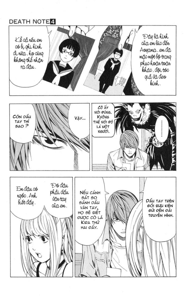 Death Note chapter 029 trang 16