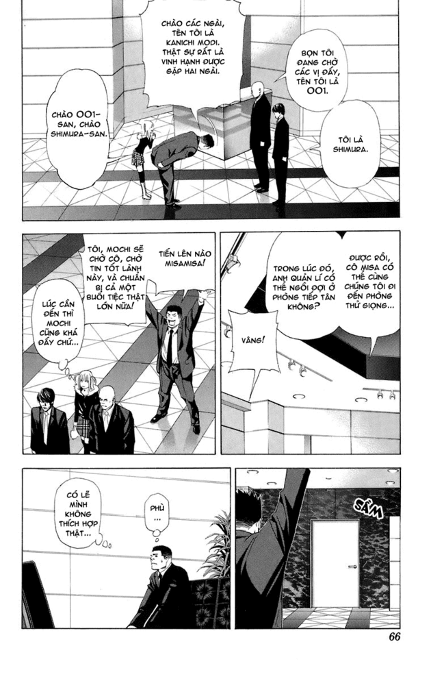 Death Note chapter 046 trang 14