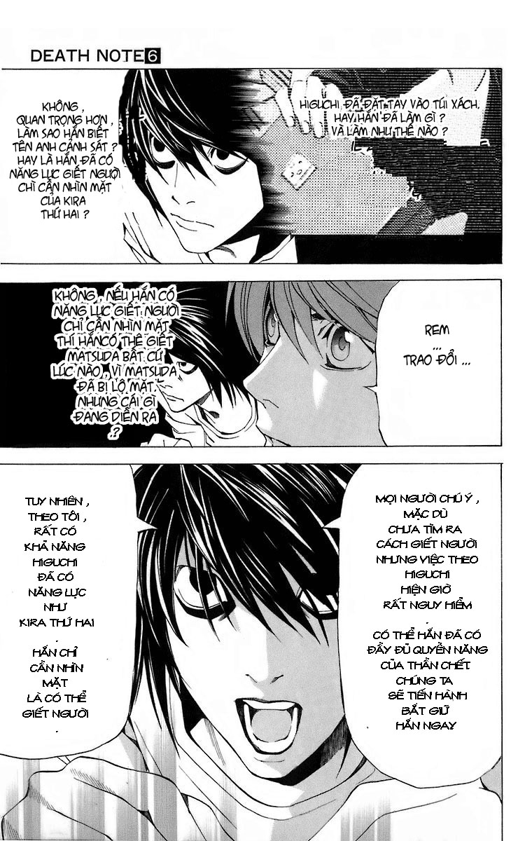 Death Note chapter 051 trang 21