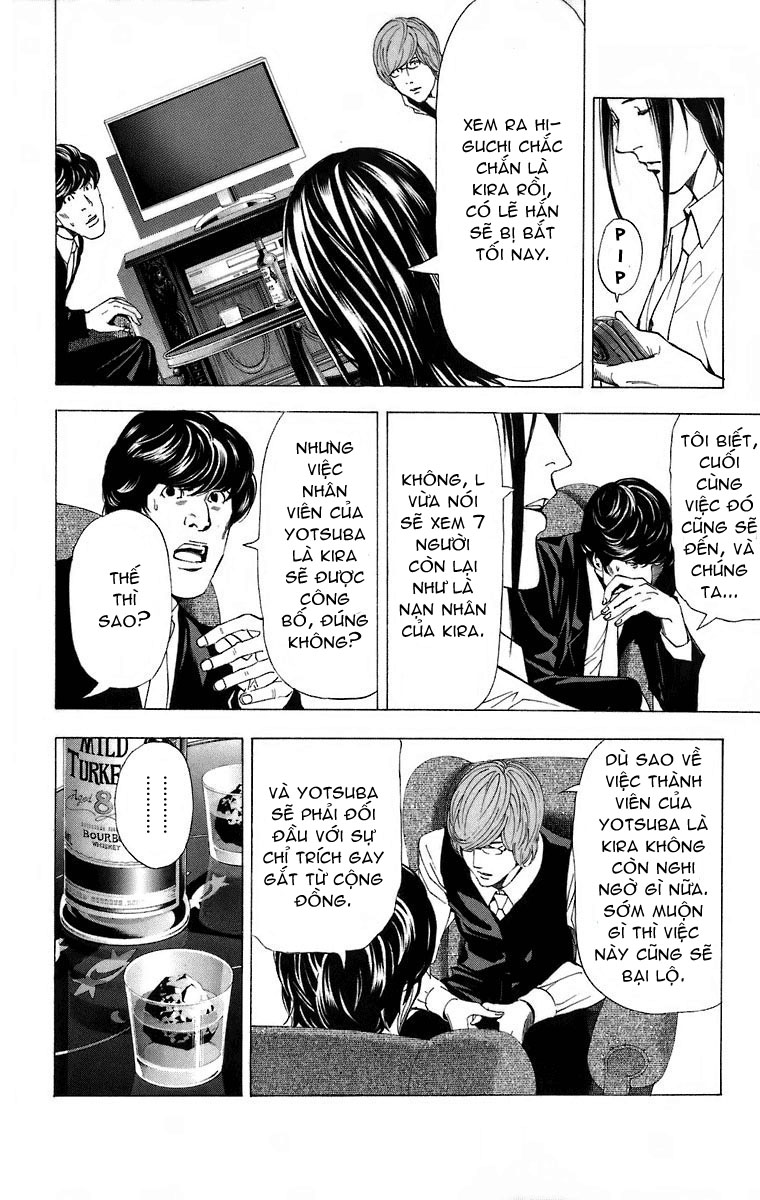 Death Note chapter 050 trang 11