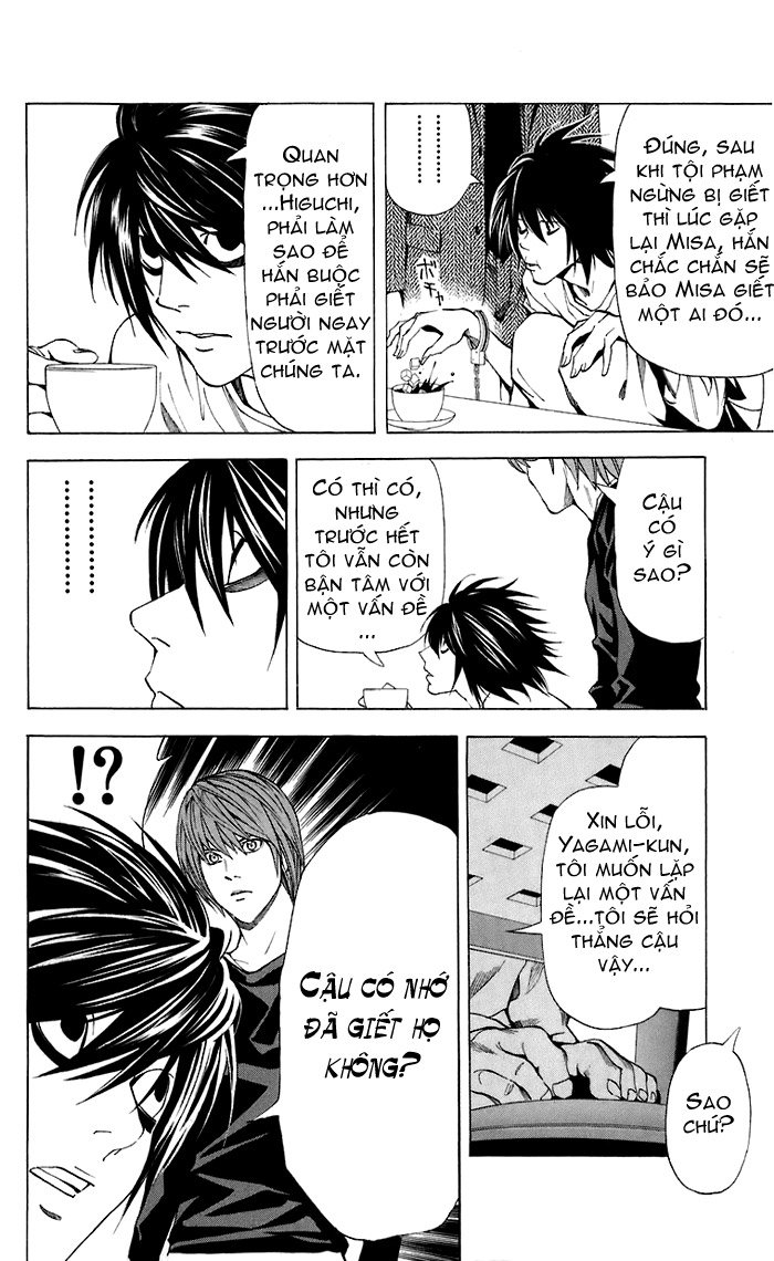 Death Note chapter 049 trang 11