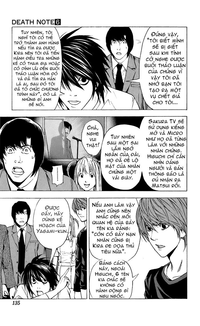 Death Note chapter 049 trang 18